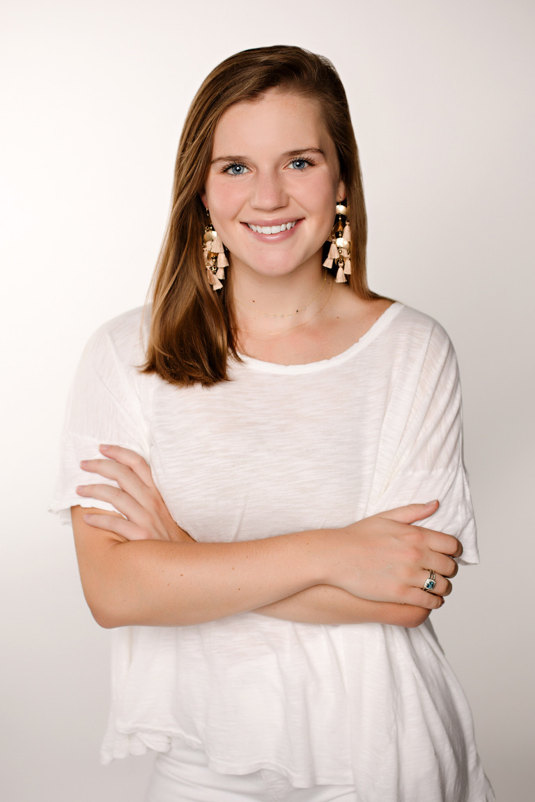 Studio photography portrait for recruitment