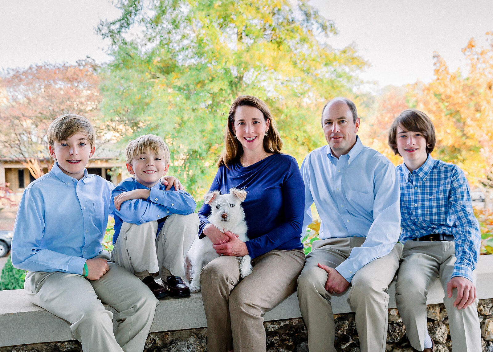 Family photography picture in Birmingham, Alabama by Irene Gardner